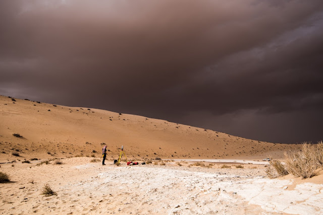 Prehistoric climate change repeatedly channelled human migrations across Arabia