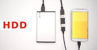 Android Telefona HDD Bağlamak (NTFS)