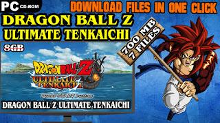 DRAGON BALL Z ULTIMATE TENKAICHI PC DOWNLOAD