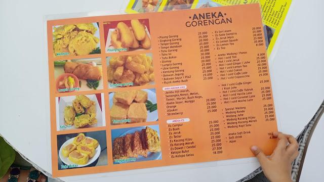 menu Eling Bening
