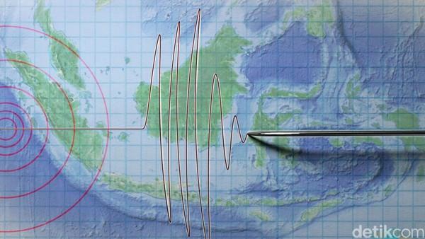 Gempa M 5,5 Terjadi di Toli-Toli Sulteng