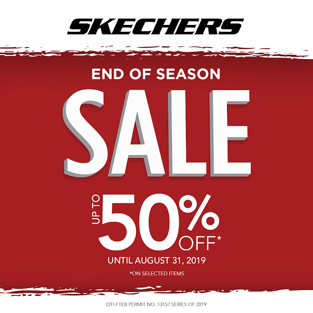 50% OFF on SKECHERS Philippines for August 2019