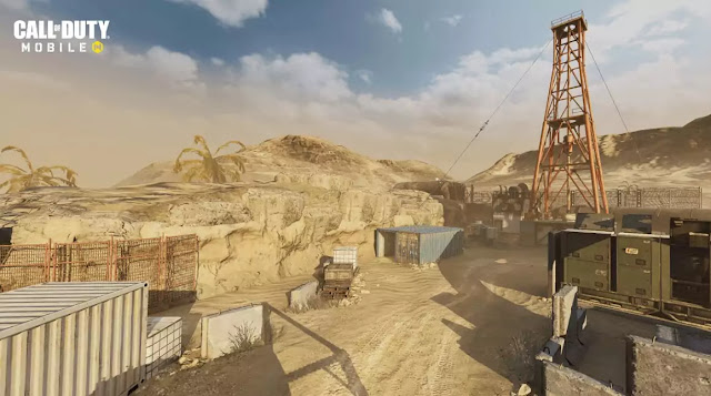call of duty mobile android Rust Map