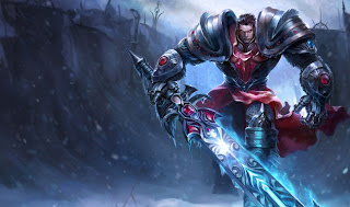 Chinese Dreadknight Garen Skin