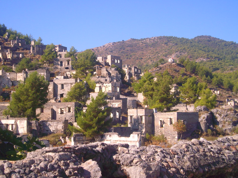 ghost world wiki, the ghosts of turkey's past, kayakoy,