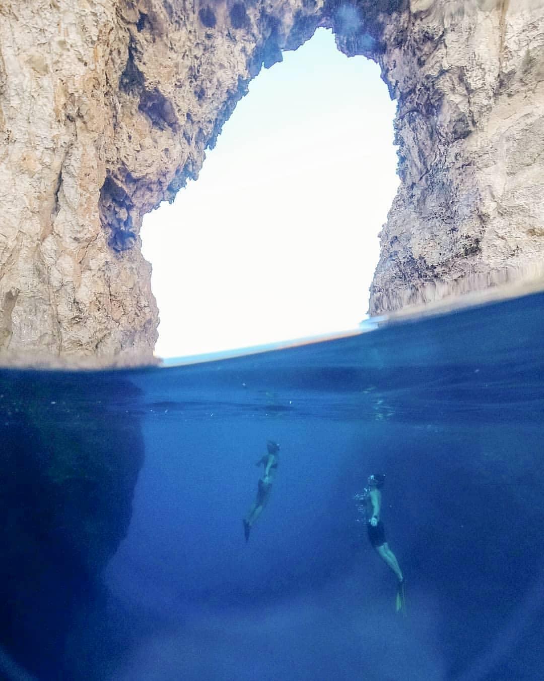 Menorca. Pont d'en Gil