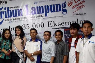 Lowongan Kerja Marketing HR Departement Tribun Lampung