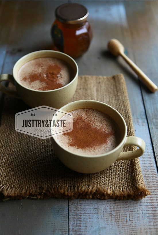 Resep Chocolate Cheese Latte