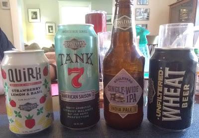 Boulevard Beer Lineup