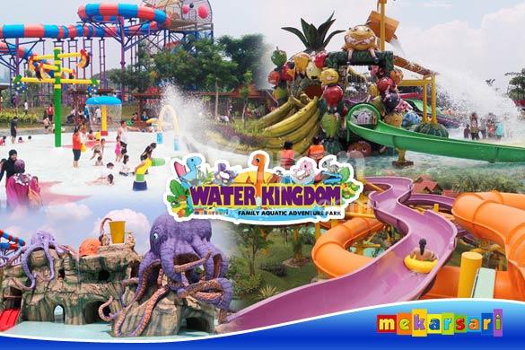 Water Kingdom Mekarsari, Merasakan Sensasi Seluncuran 229 Meter