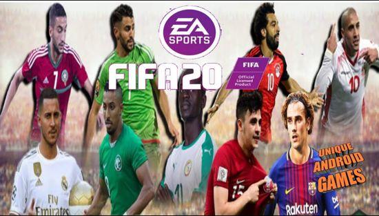 تنزيل لعبة FIFA 14 تعديل FIFA 20، فيفا 20 مود فيفا 14 للاندرويد، بالاطقم وباخر الانتقالات، بحجم  800MB فقط، من ميديا فاير، بدون نت Offline اخر تحديث.