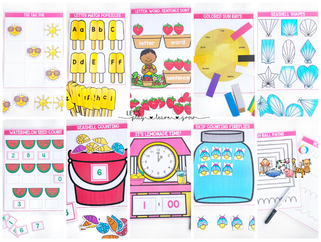 Summer Busy Binder