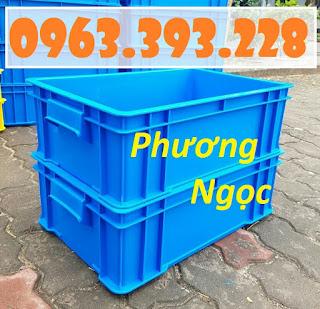 Thùng nhựa có nắp, thùng nhựa B4, hộp nhựa công nghiệp 27352ffe65bb80e5d9aa