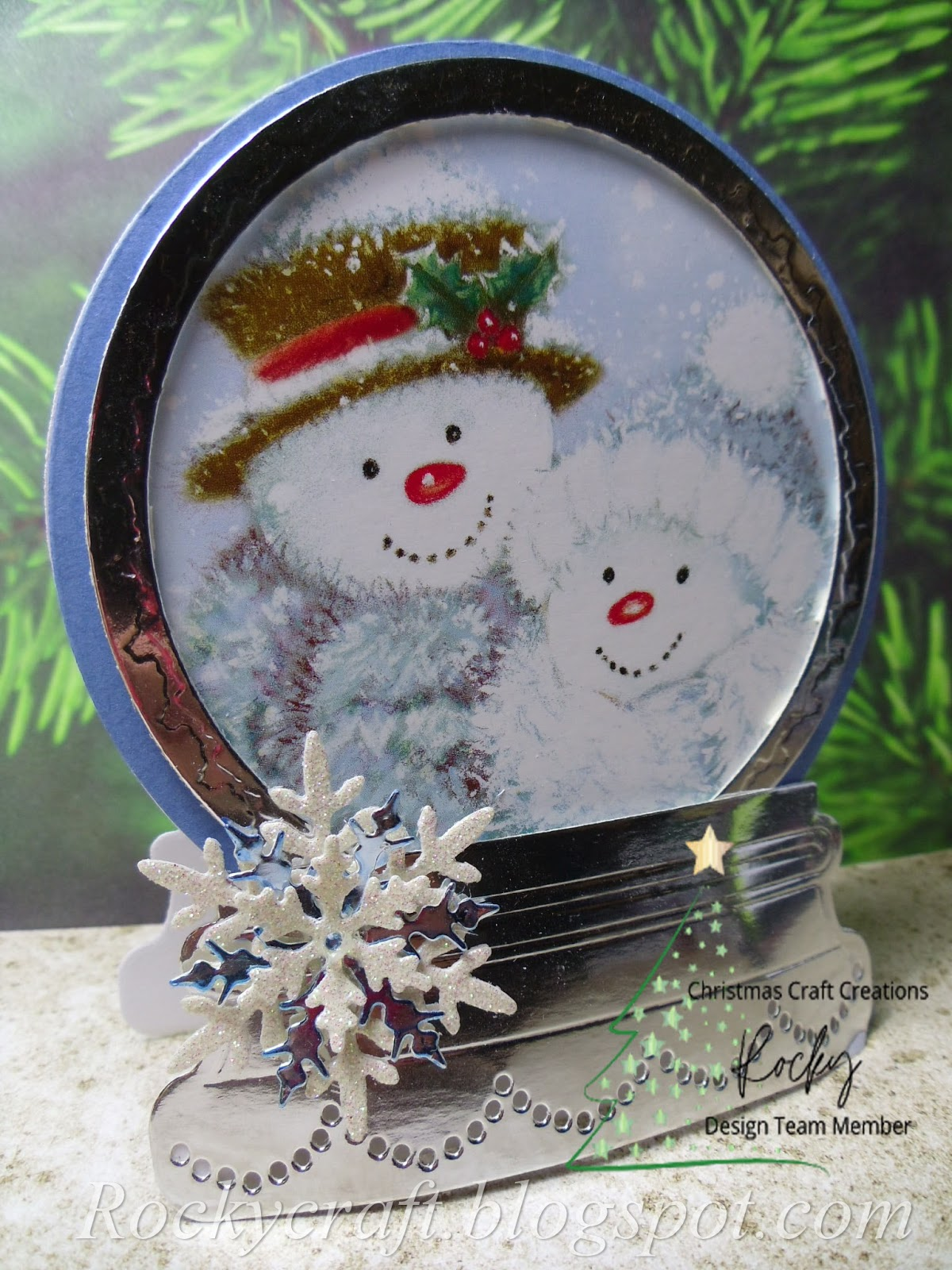 When Christmas Goes Horribly Wrong 2020 Rocky's Crafting Blog: Snow Happy