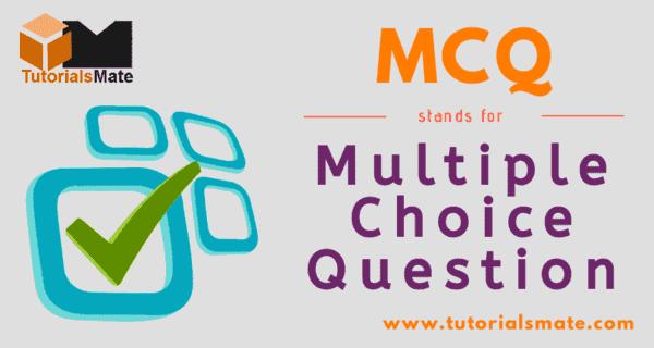 MCQ Full Form