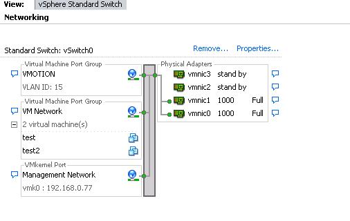 ESXi5 Command Line Reference - Networking Part 2