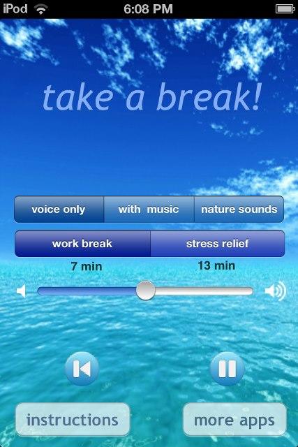 take a break app