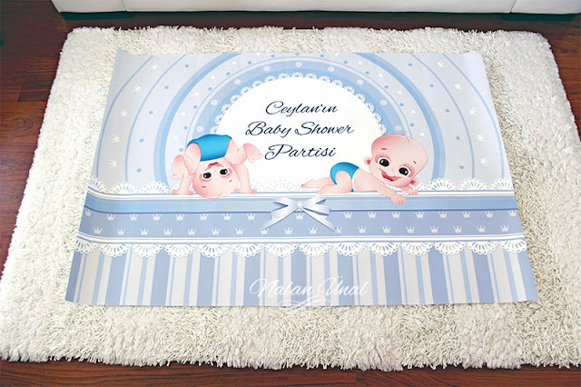 Baby shower şeker büfesi poster