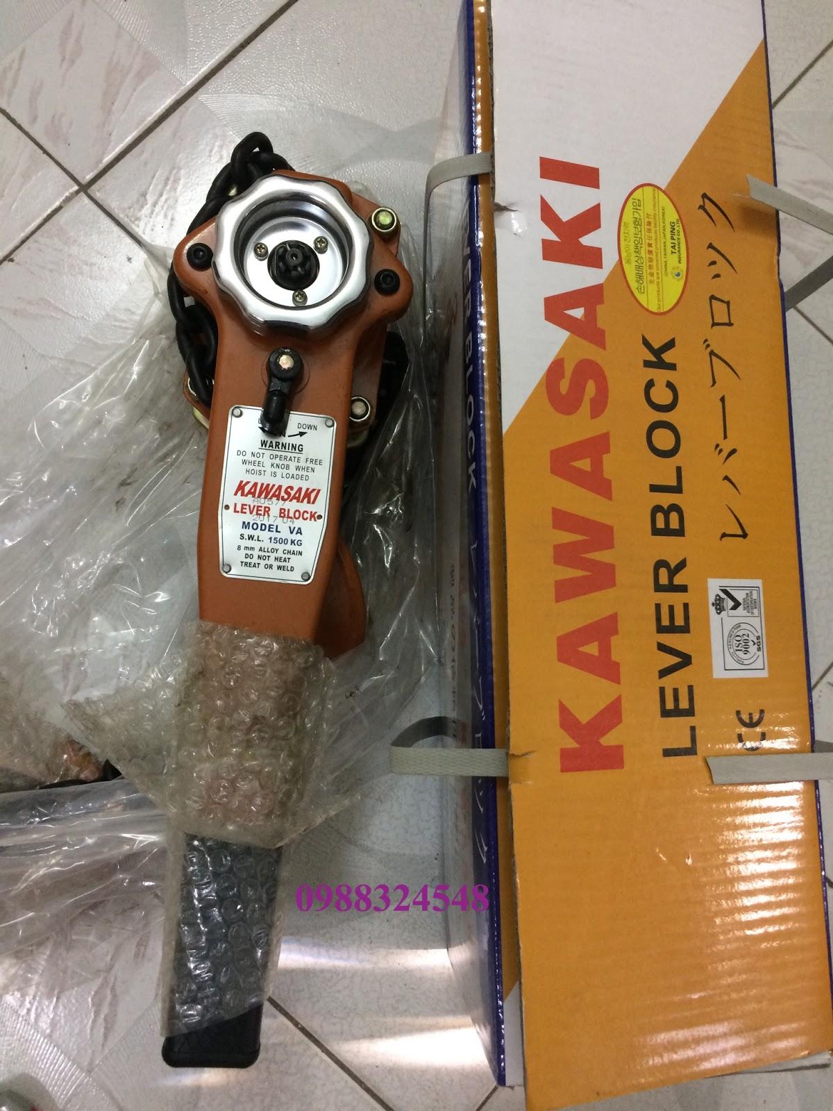 palang lắc tay Kawasaki VA 1500kg