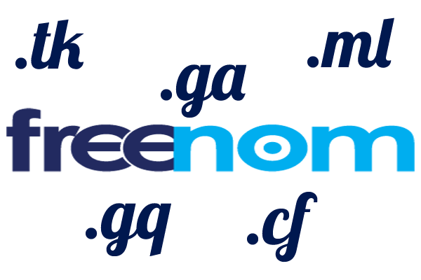 Is it safe to use free domain name from freenom