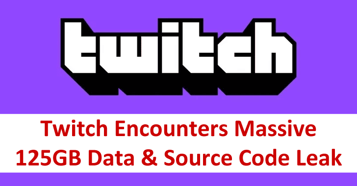 Twitch Hacked – Hacker Leaked Massive 125GB Data and Source Code Online