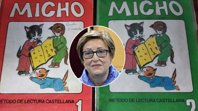 Ha fallecido María Isabel Sahuquillo una de las creadoras de la cartilla Micho