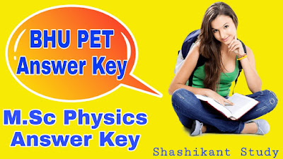 bhu-m.sc-physics-answer-key
