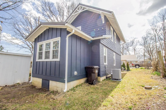 rear view, with enclosed back porch • 24 Massie Avenue, Paris, Kentucky, Sears Norwood model