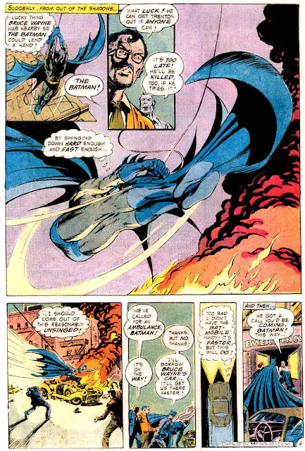 Batman v1 #265 dc comic book page art by Bernie Wrightson