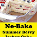 No-Bake Summer Berry Icebox Cake