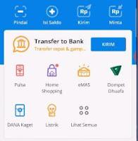 Cara Setting Akun Bank vTube ke DANA