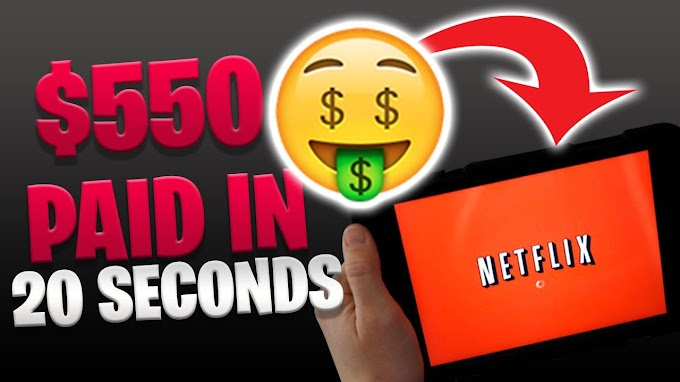 EARN $550 PER DAY WATCHING NETFLIX [Make Money Online]