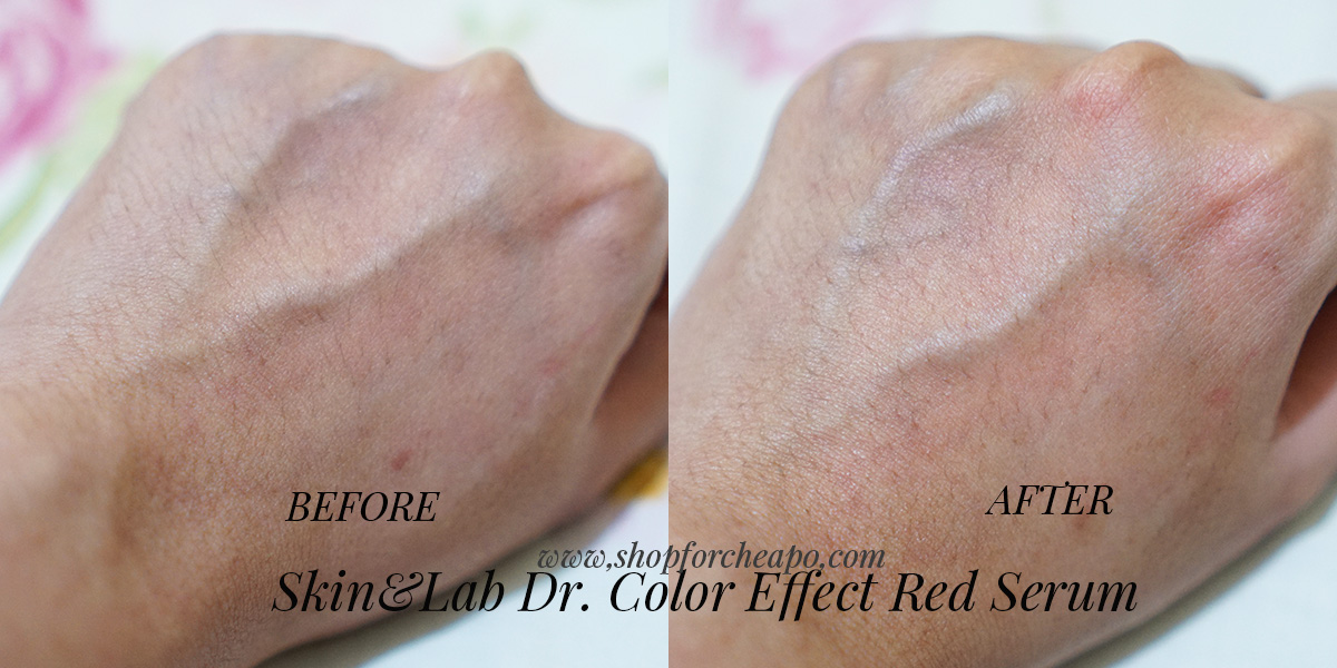 Review Skin Lab Dr. Color Effect Red Serum Indonesia Asli