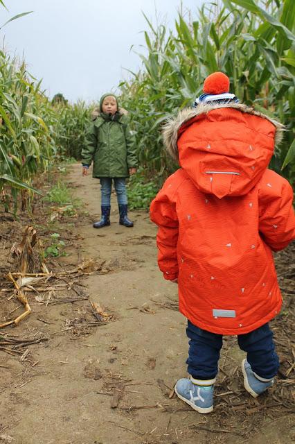 Mit Reima i Maislabyrinth wirklich gute WInterjacken Jules kleines Freudenhau