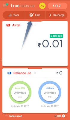 How to refer earn free recharge on truebalance