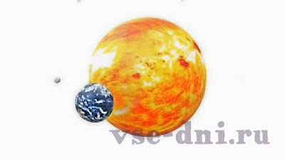 когда и во сколько наша планета приблизится к Солнцу на минимальное расстояние и разгонится до максимальной скорости