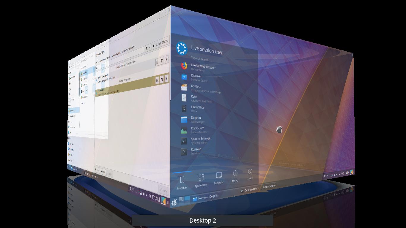 Ubuntu Buzz !: Enabling 3D Desktop Cube in 2018 on Kubuntu