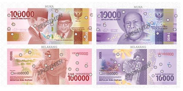 Hari ini Uang NKRI Desain Baru Diluncurkan, Berikut Penampakannya