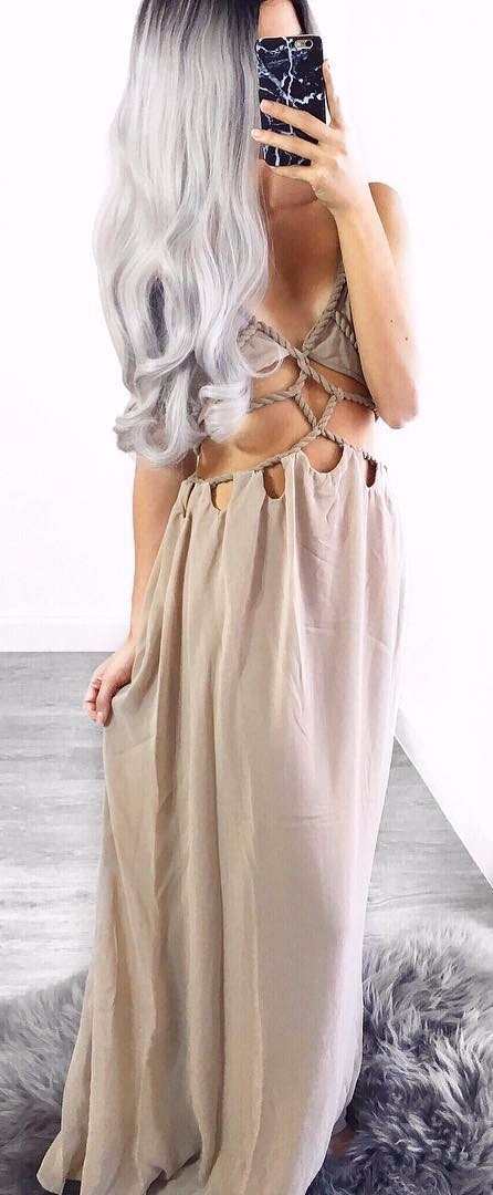 Have never seen such a cute strappy maxi. Where can I get it?