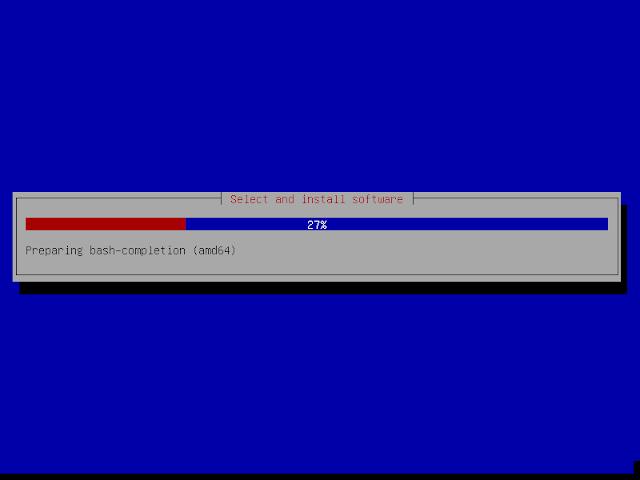 proses instalasi debian 9.6