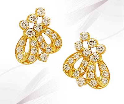 Latest Gold Earring Jewelry