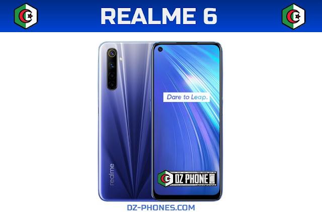 Realme 6 السعر والمواصفات في الجزائر Prix Realme 6 Algérie