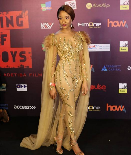 First photos from Kemi Adetiba's 'Gangster Royalty' themed 'King of Boys' Premiere naijaslog