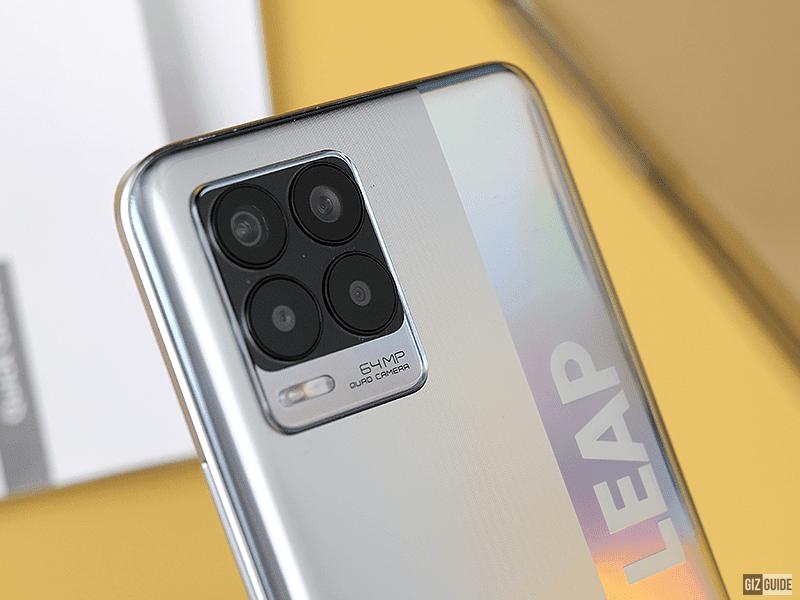realme rear quad-cameras