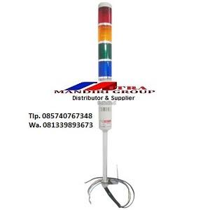 Jual Signal Tower 4 Susun Kedip 220V di Madiun