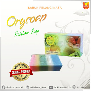 sabun rainbow nasa