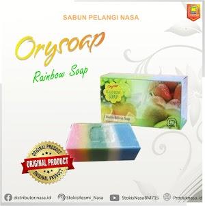 Sabun Rainbow Nasa Pelangi