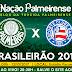 Jogo AO VIVO! Palmeiras x Bahia 12/10/2017
