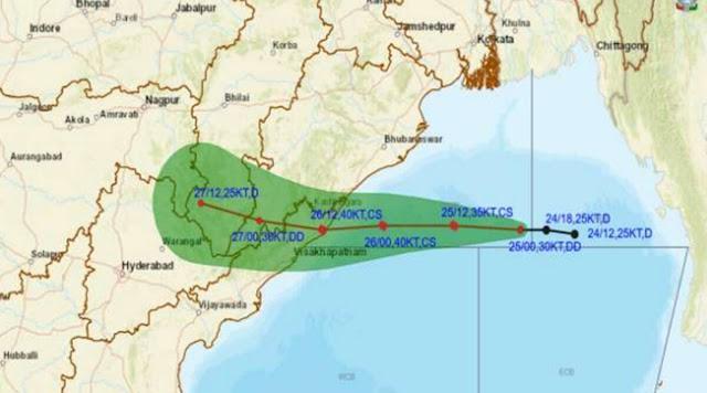Cyclone Gulab LIVE Updates