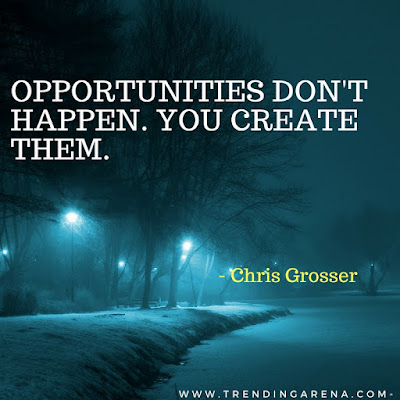 famous quotes about success by chris Grosser